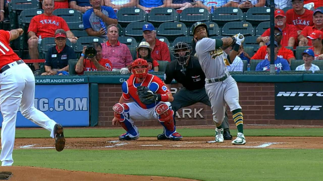Davis belts two homers in Texas