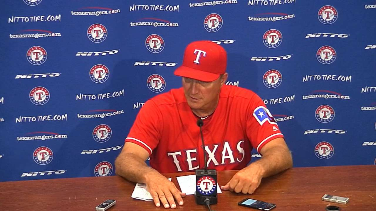 Banister on loss to A's