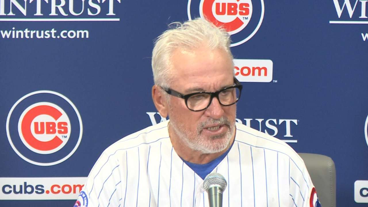 Maddon on 8-1 win over White Sox