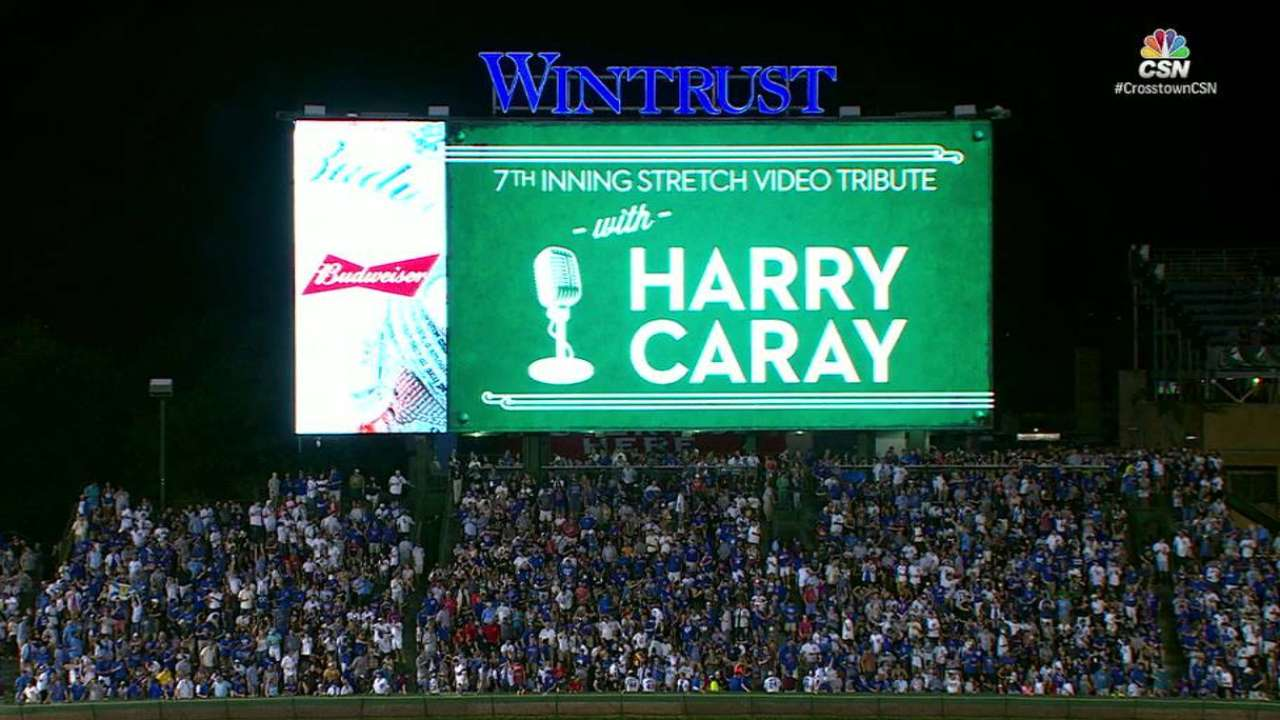 Caray leads 7th-inning stretch
