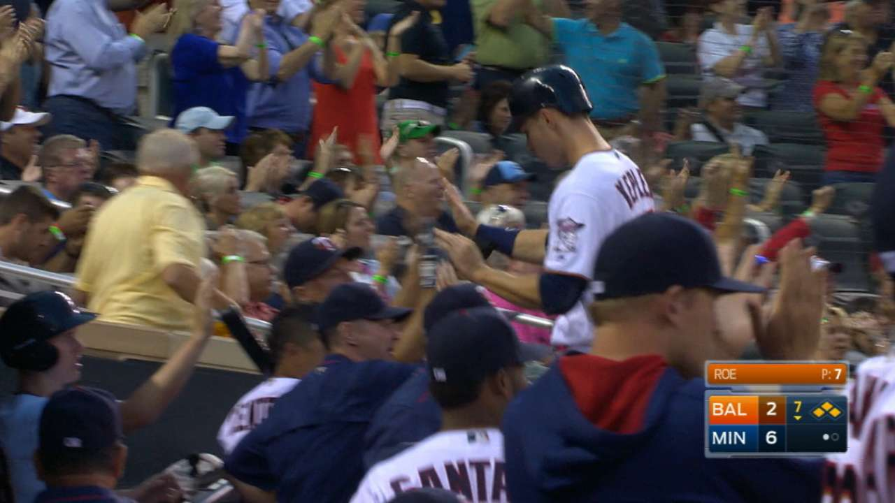 Kepler, Grossman rally Twins past O's in 7th