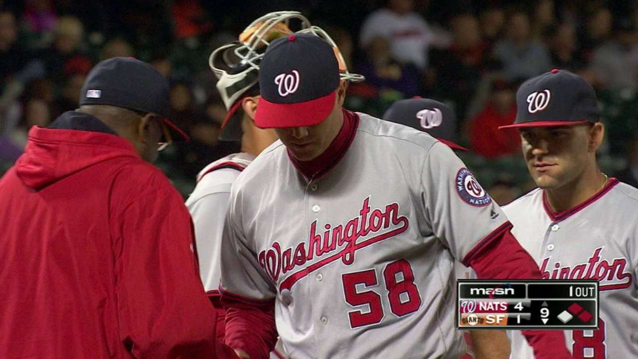 Questions loom after Papelbon's early hook