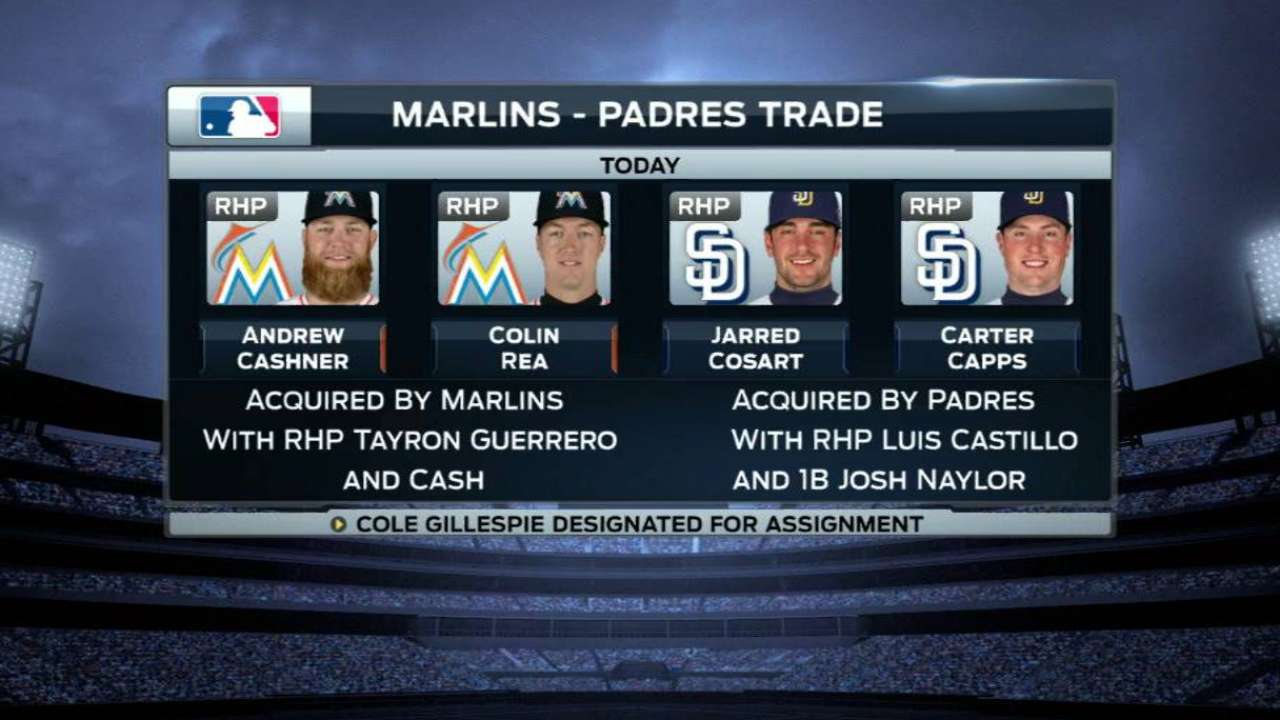 Former Padre Rodney, Marlins excited about trade