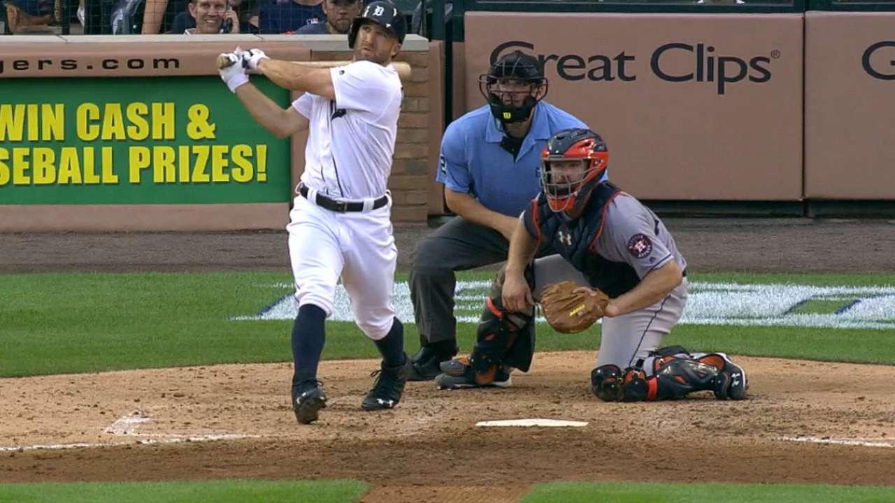 Second helping: Tigers strike back, bury Astros