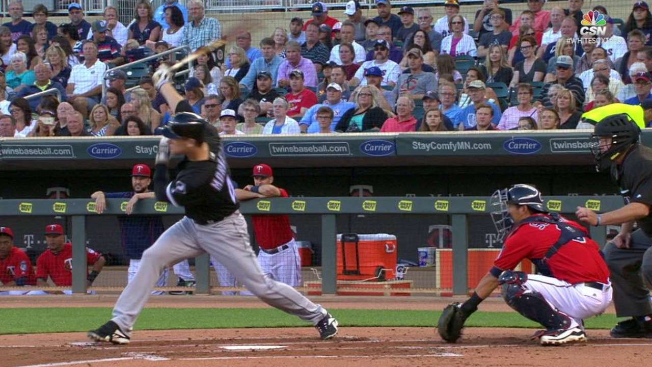 Morneau singles to right