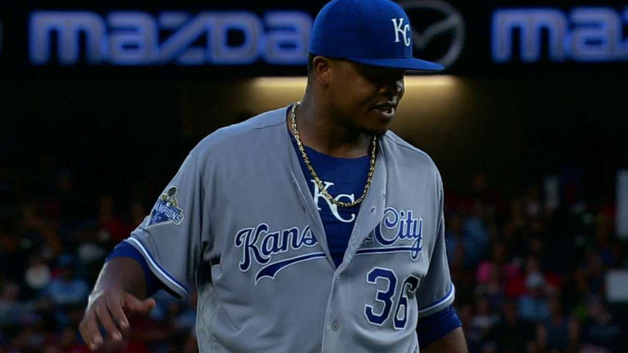 Volquez, Kendrys with Royals near Deadline