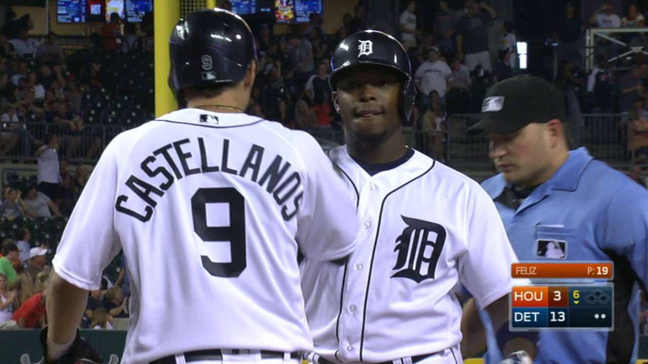 Tigers see timing as root of Upton's struggles