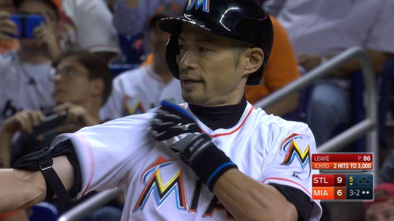 Ichiro ends the game hitless