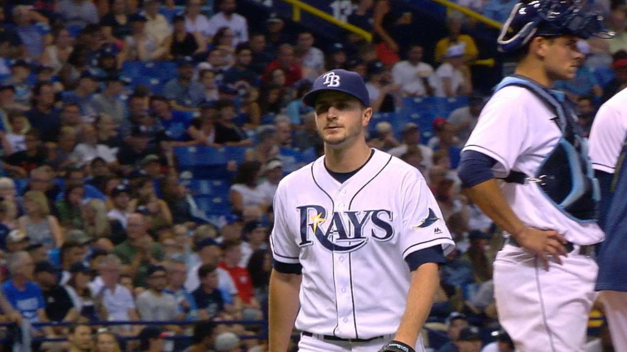 Odorizzi's scoreless outing