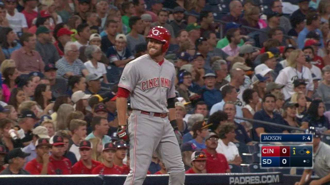 It's business as usual for Reds' Bruce, Cozart