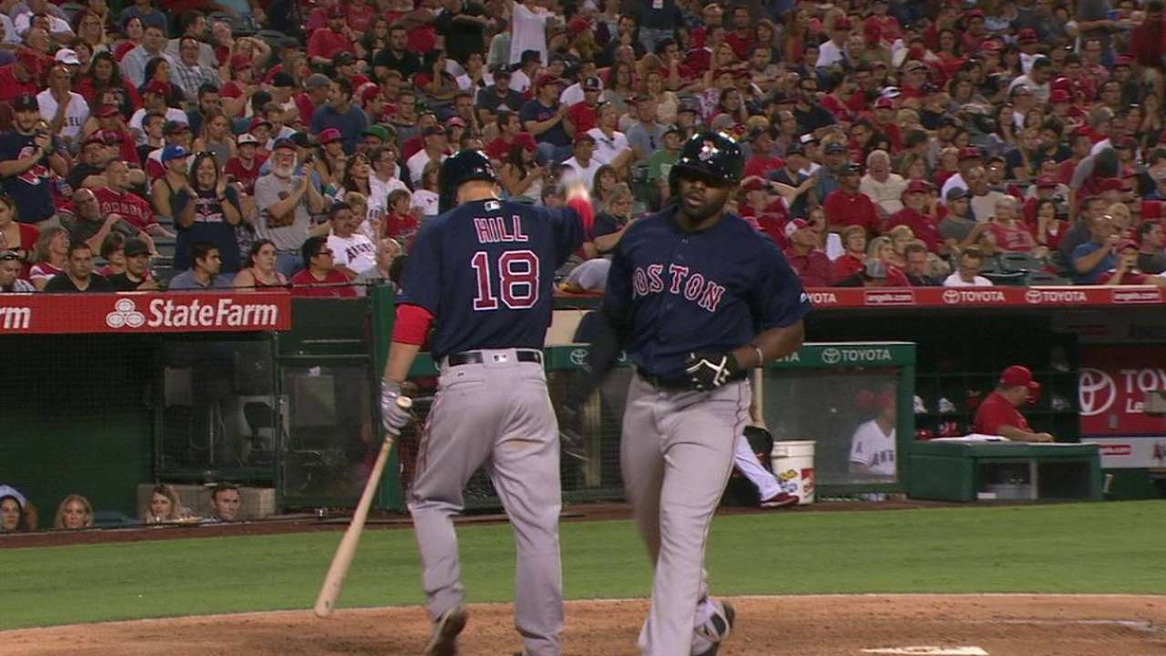 Porcello stymies Angels as Red Sox end skid