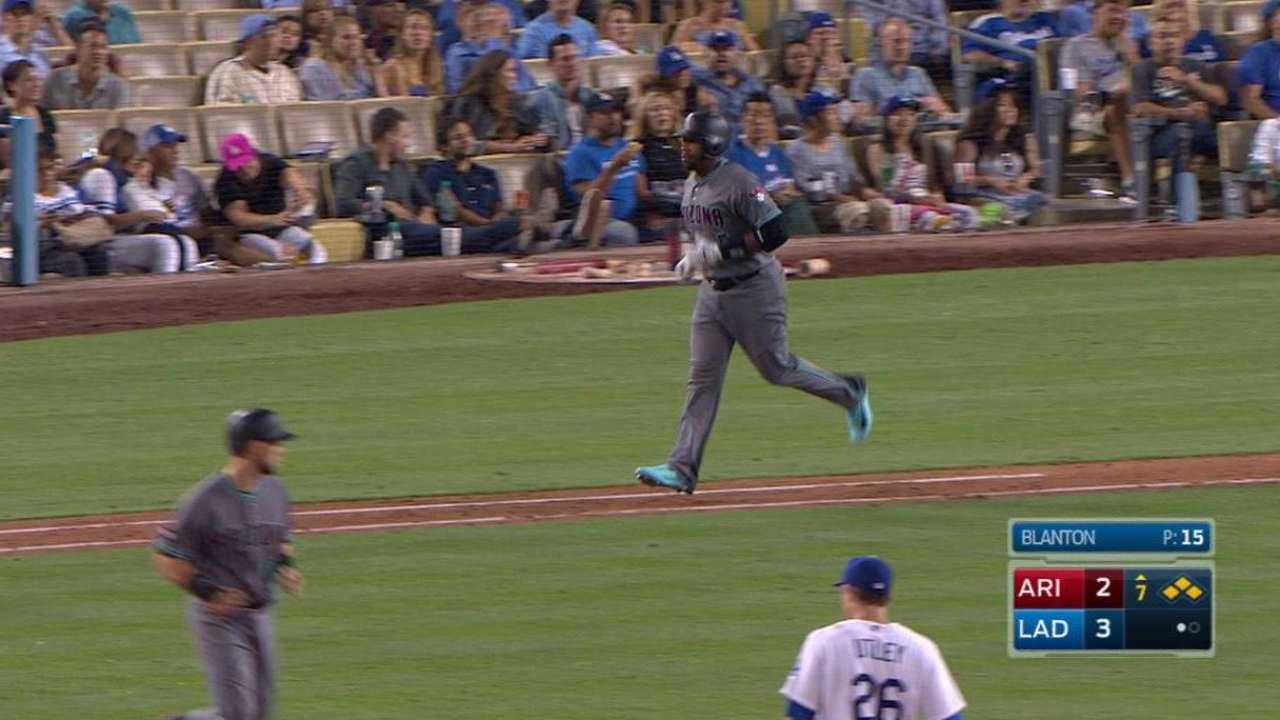 Weeks Jr.'s bases-loaded walk