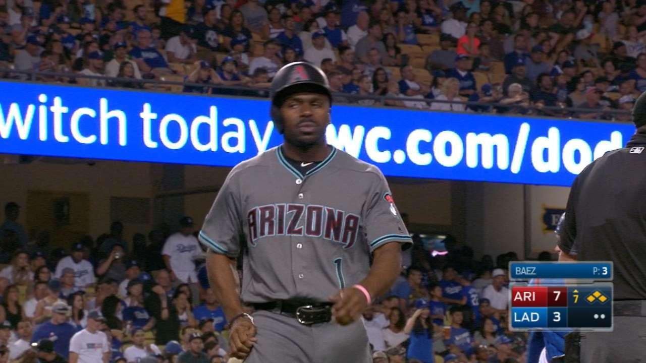 D-backs' 7th-inning comeback short-lived vs. LA