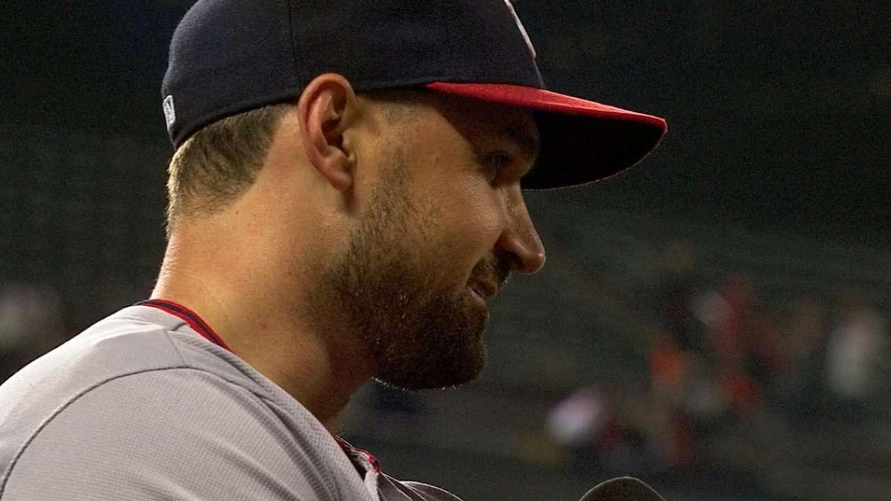 Zimmerman, Baker on triple play
