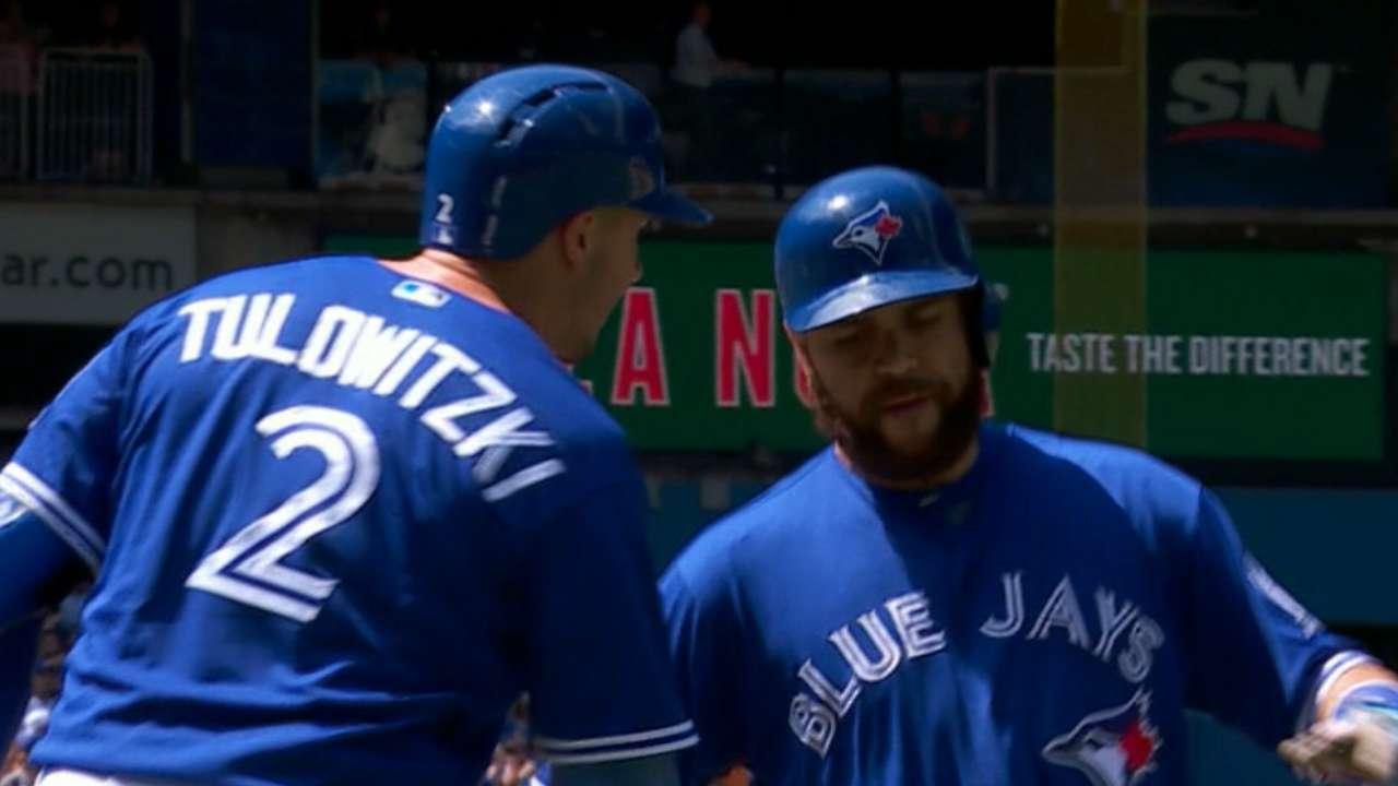 Blue Jays' seven-run 5th inning