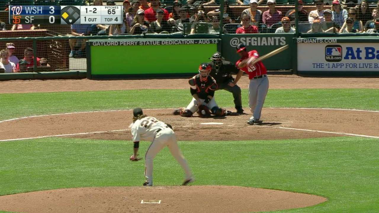 Peavy's seventh strikeout