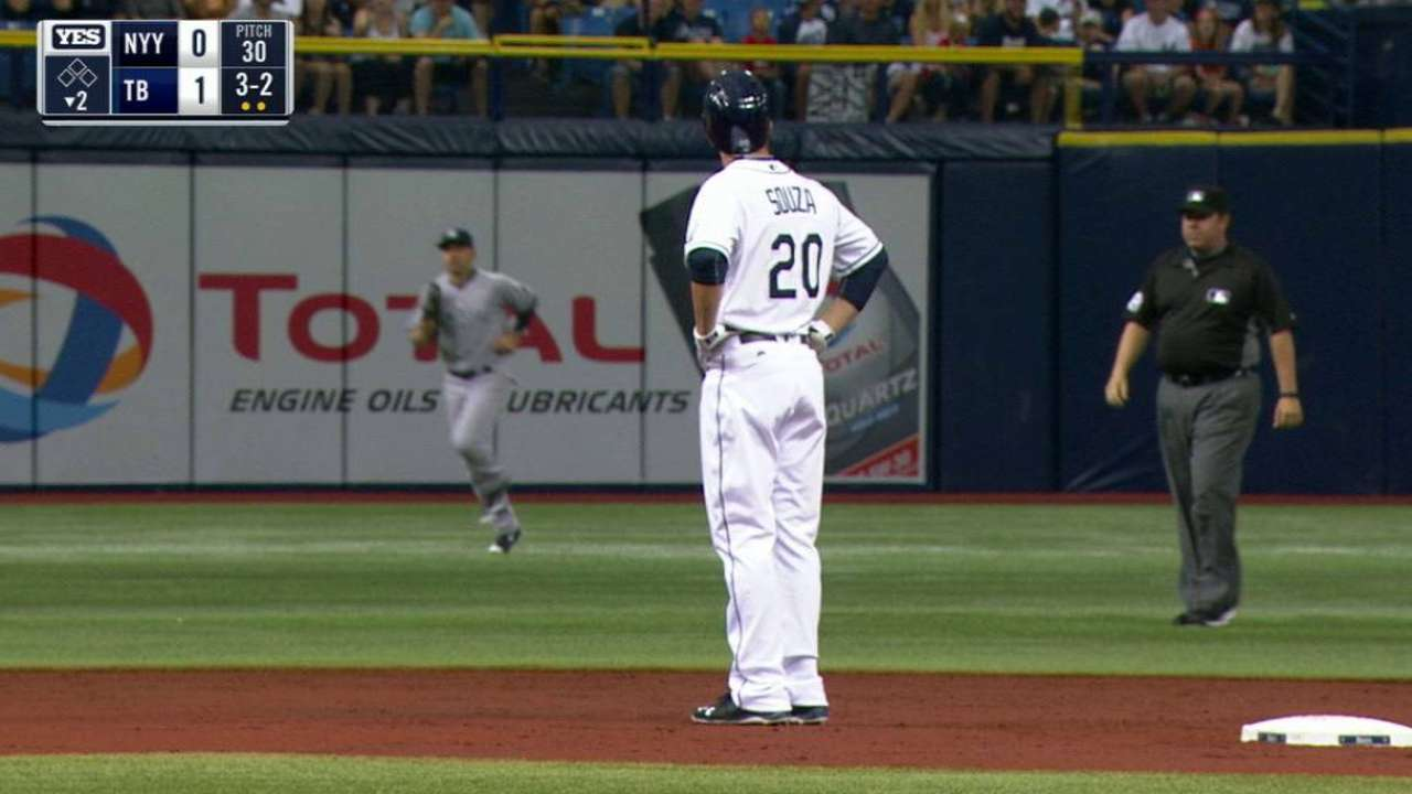 Be mine: Didi makes catch off B-Ring at Trop