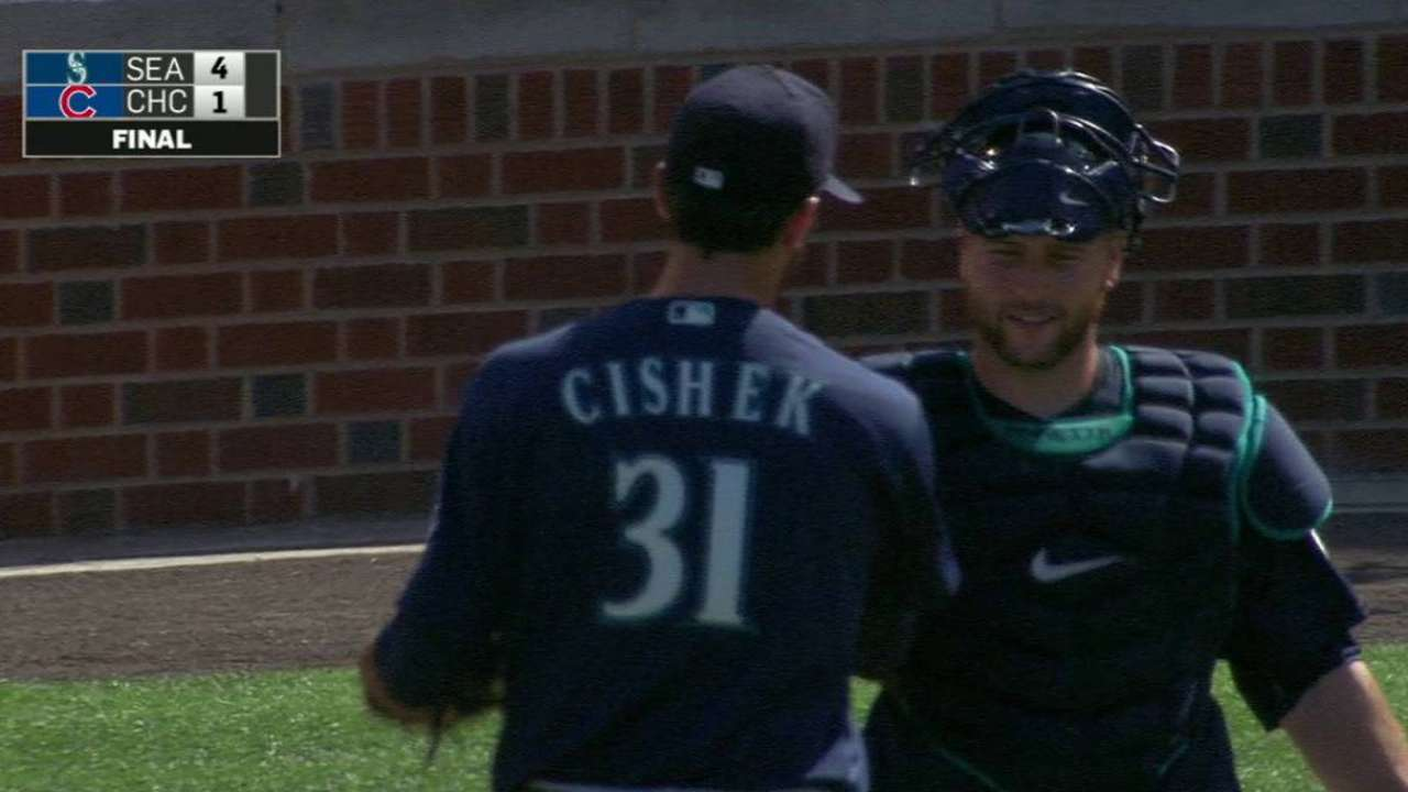 Cishek excited about first throws of spring