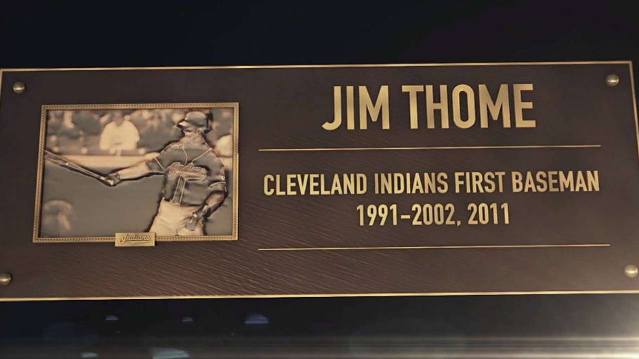 Indians induct players to HOF