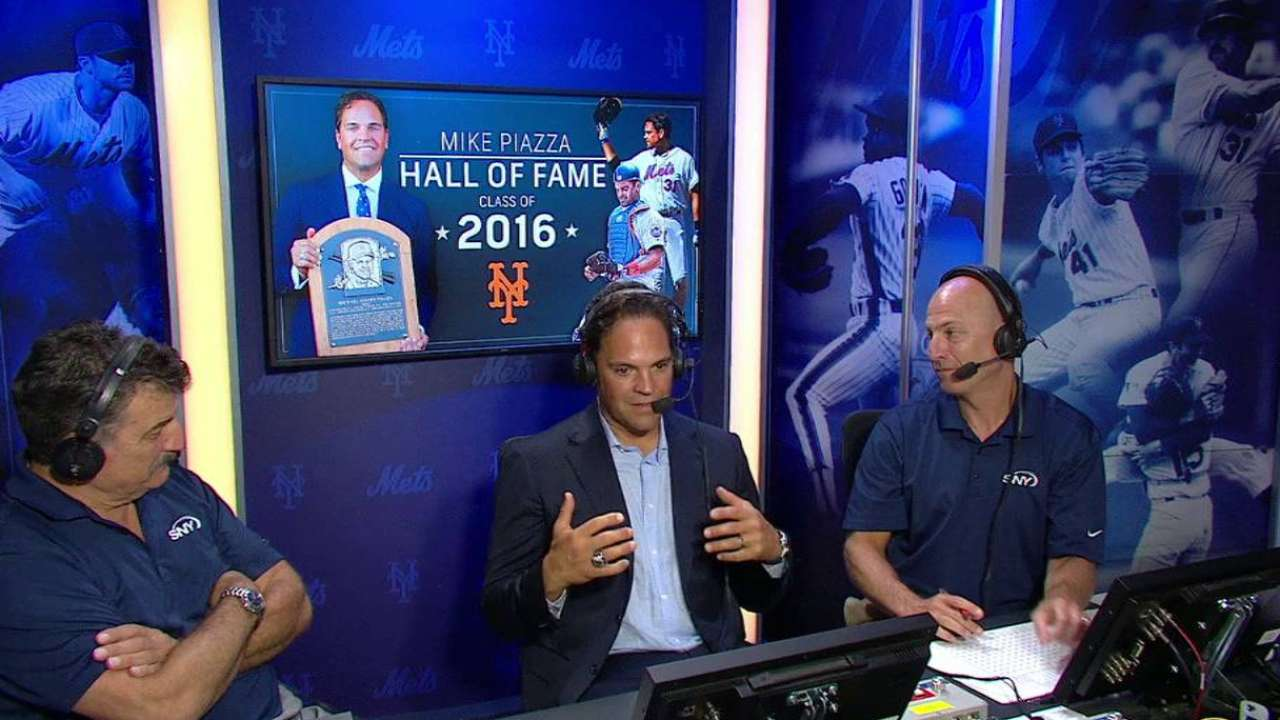 Piazza on his career