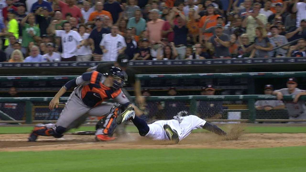 Maybin comes around on error
