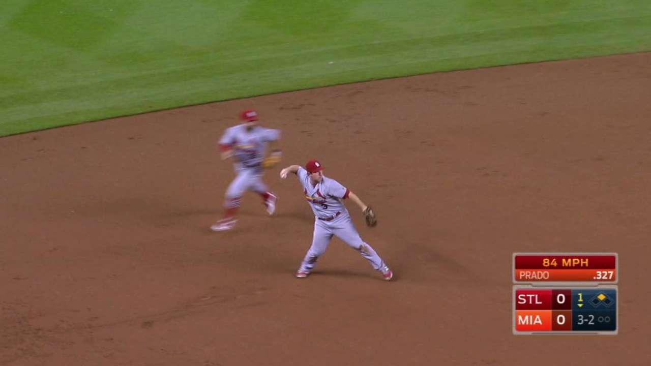 Cardinals shut out behind shaky Garcia
