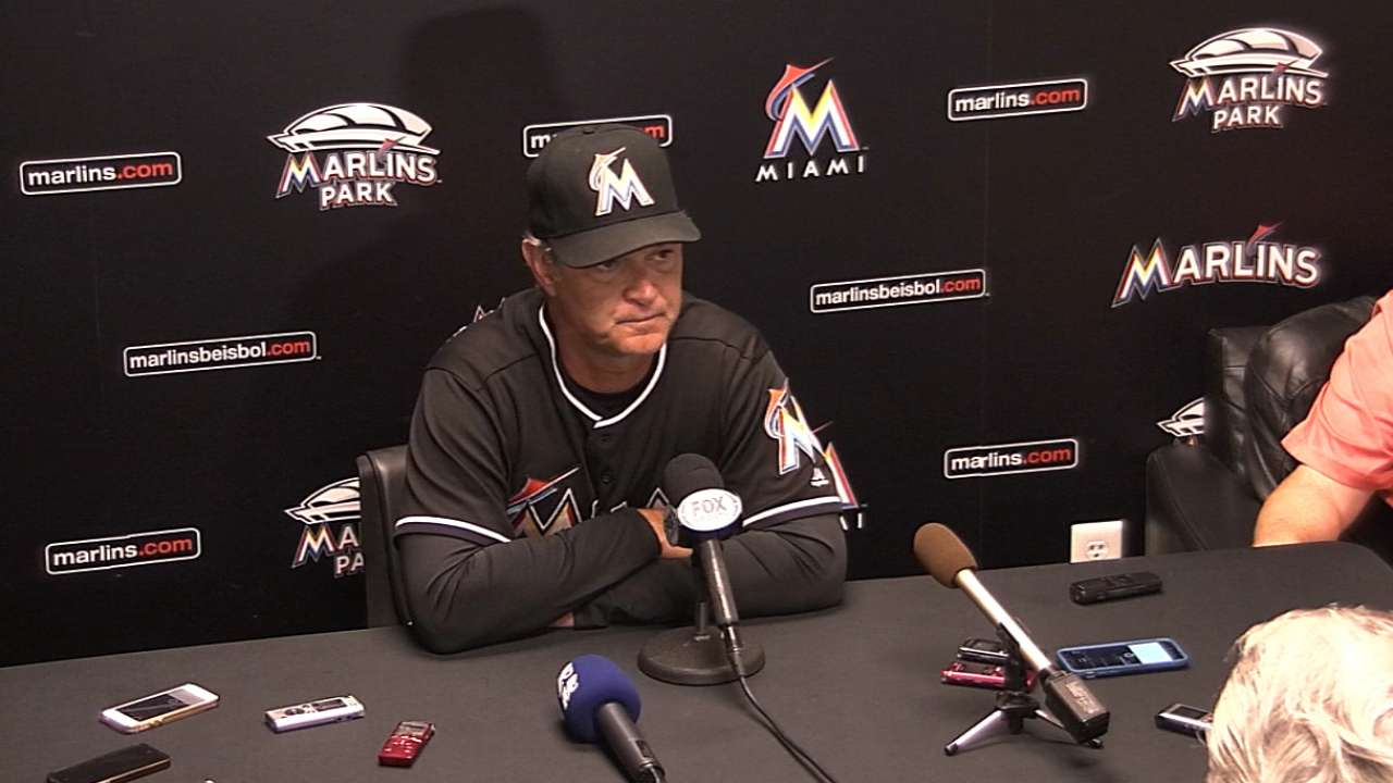 Mattingly on win over Cardinals