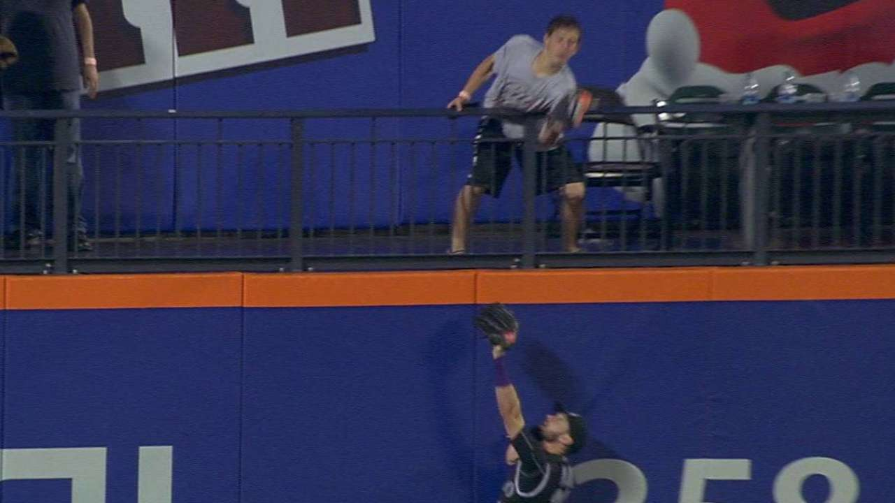 Flores, Collins miffed by overturned home run