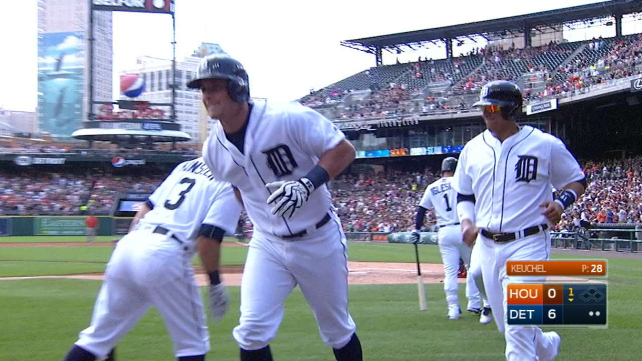 McCann, Miggy power Tigers' sweep of Astros