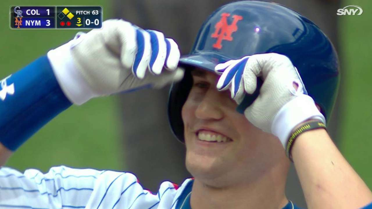 Nimmo has whirlwind trip to Vegas, back to NY
