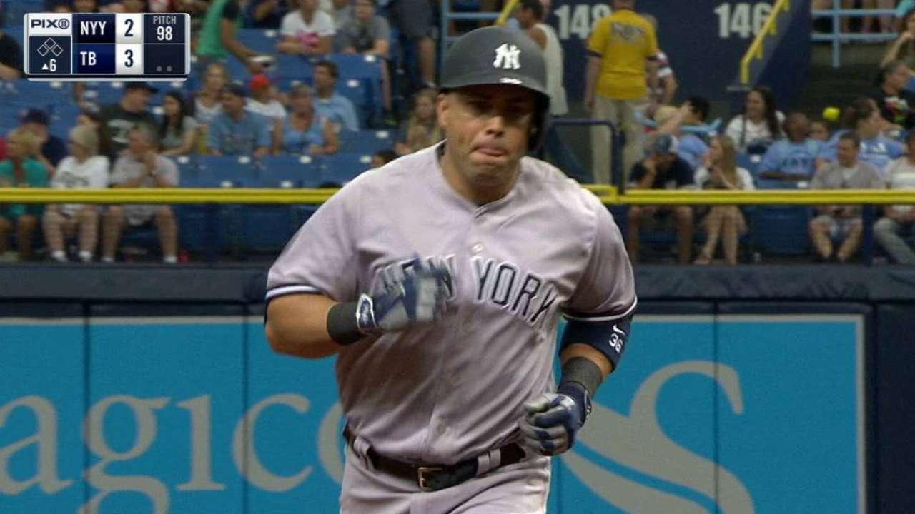 Beltran's two-run homer