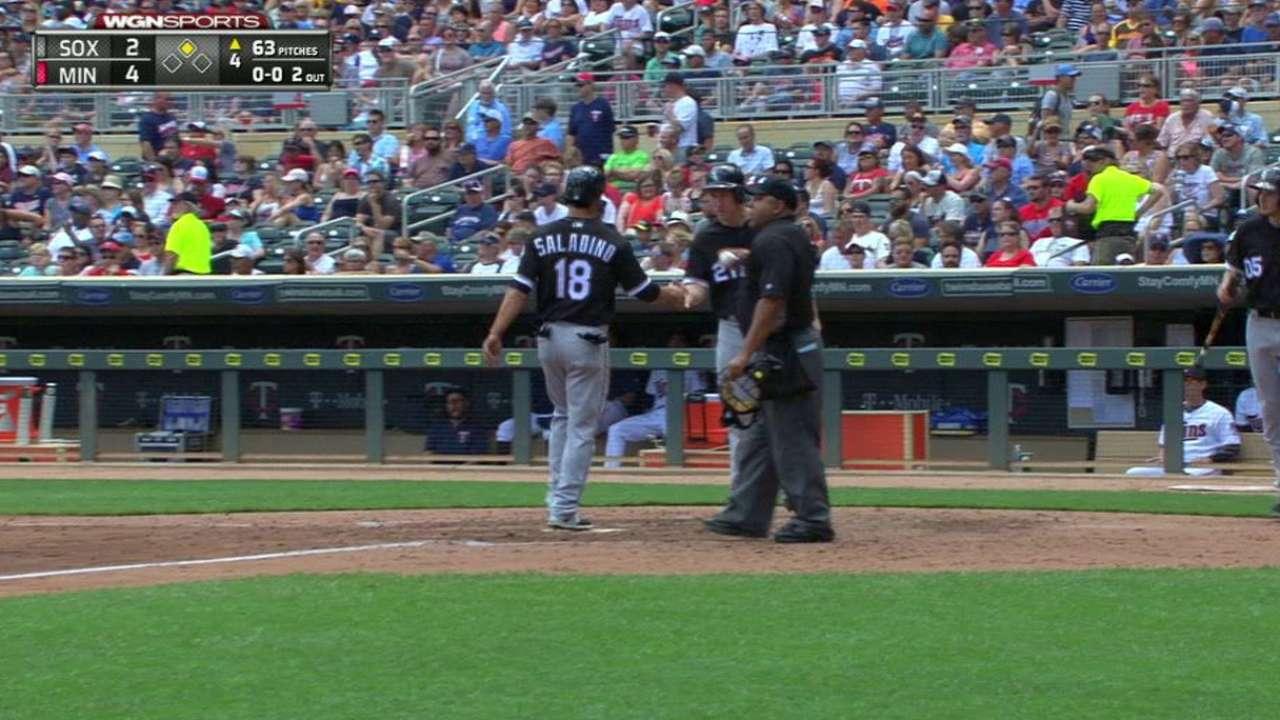 Sox score two on hit, error