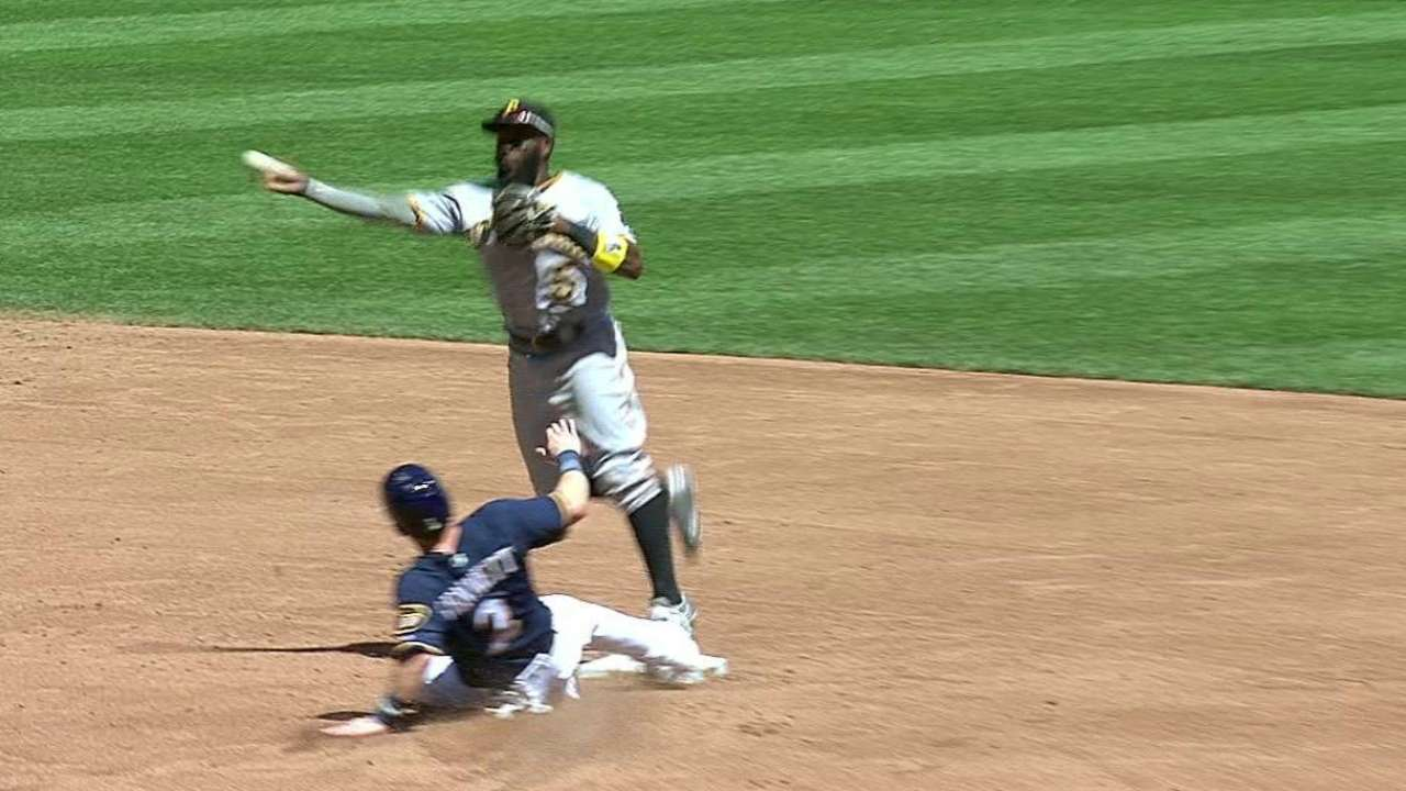 Pirates turn two on Brewers