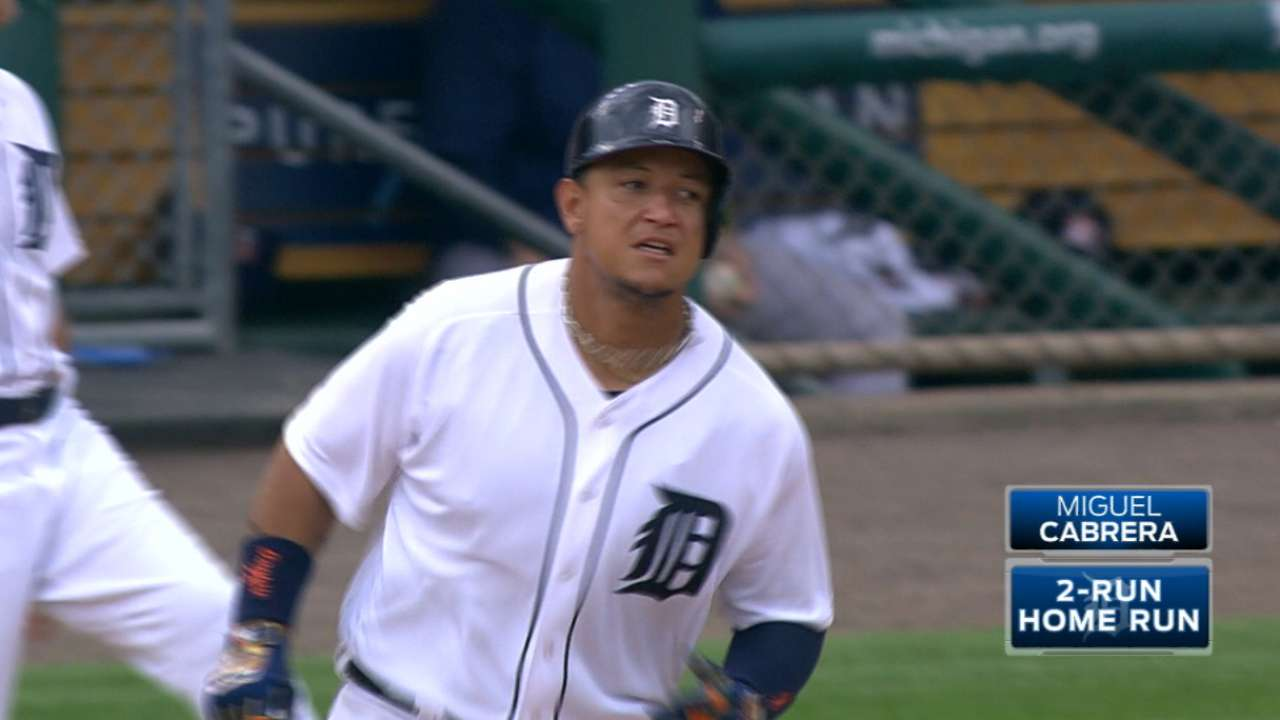 Miggy's big offensive day