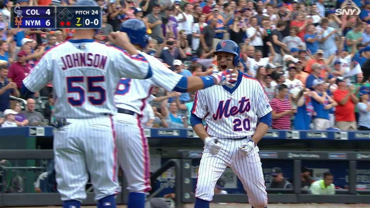Mets lograron llevarse el del honor contra Rockies