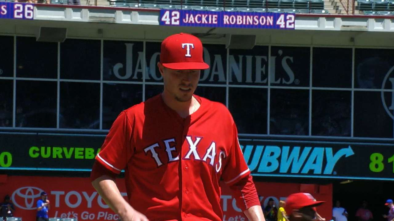 Harrell delivers solid results in Rangers debut