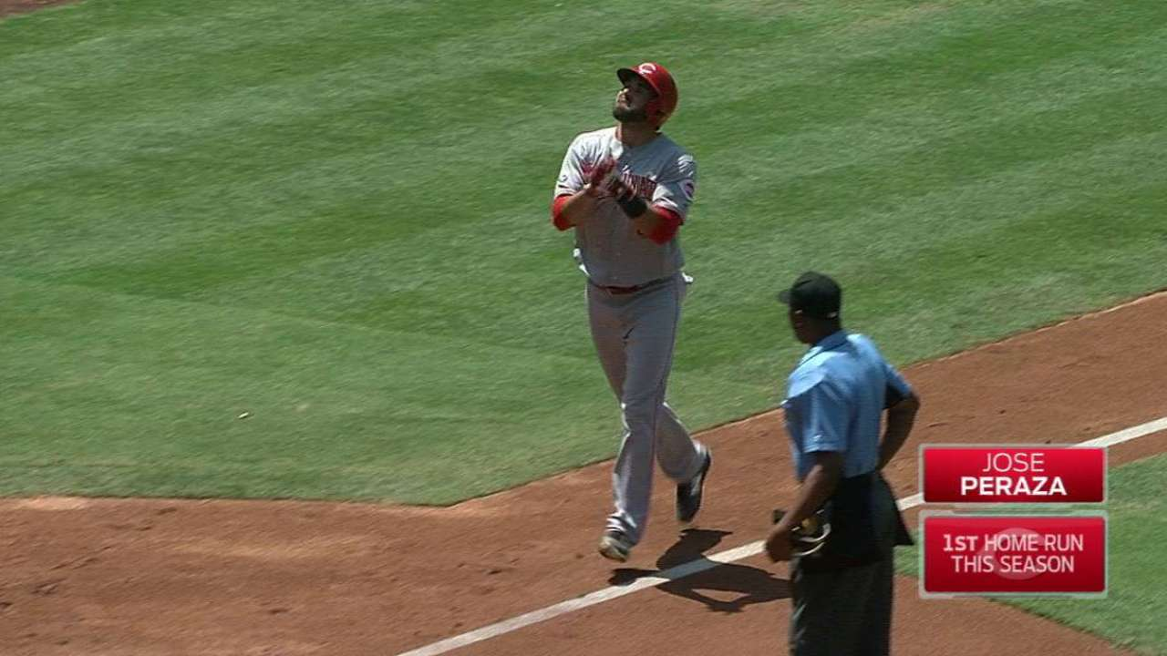 Peraza, Bailey clinch series win over Padres