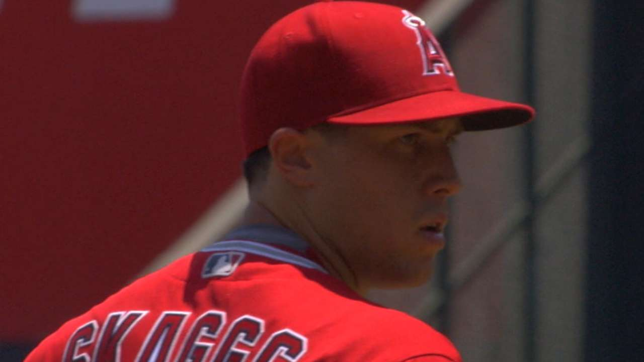 Two years later, Skaggs' injury is 'water under bridge'