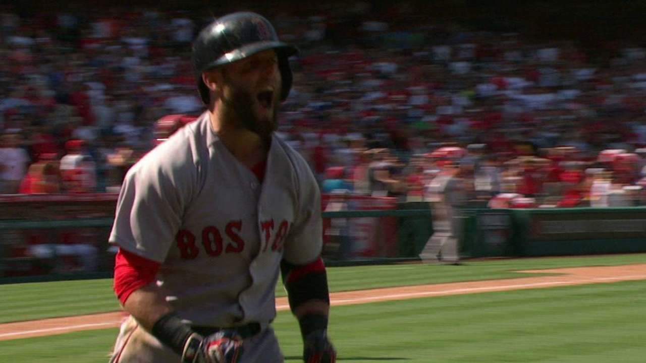 Pedroia turns day around with winning homer