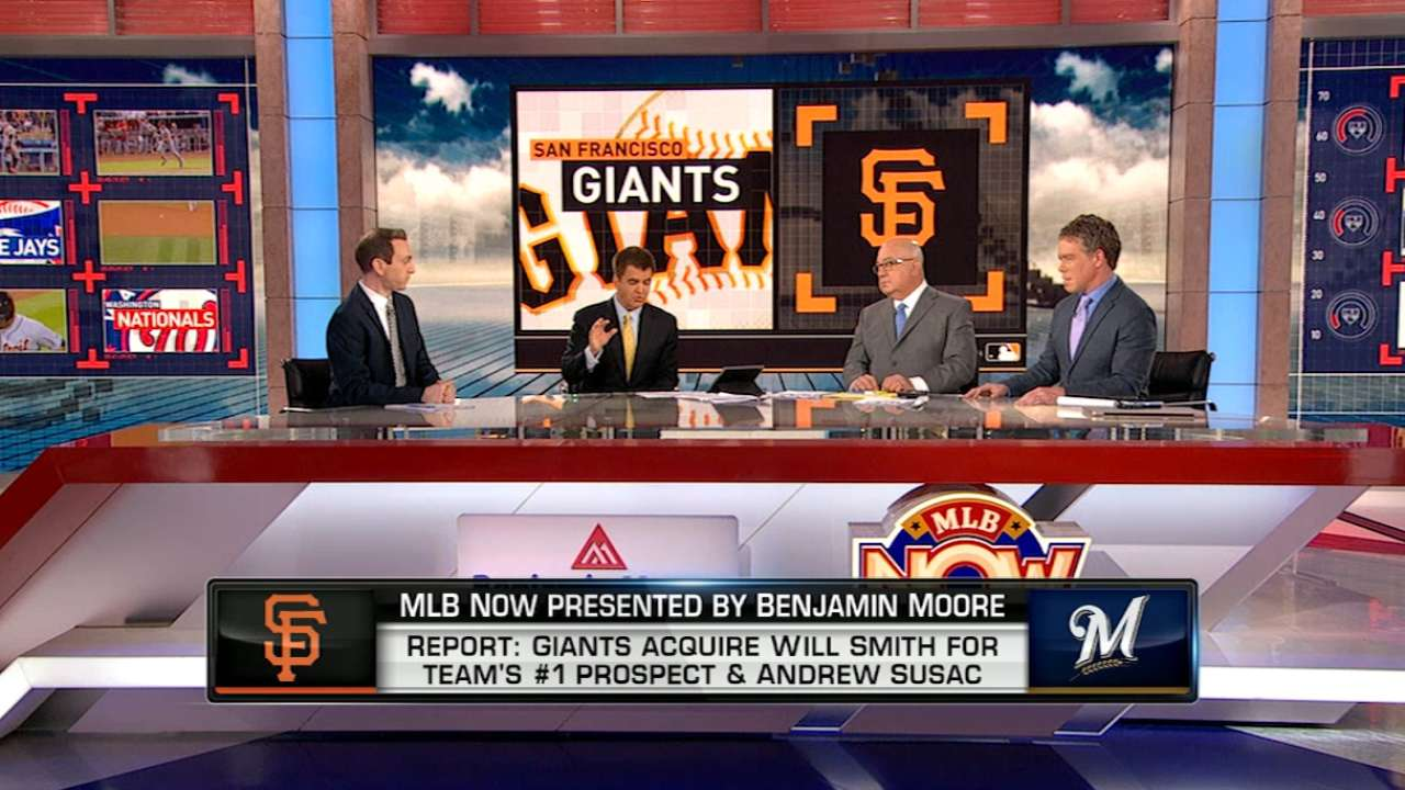 MLB Now: Giants' moves