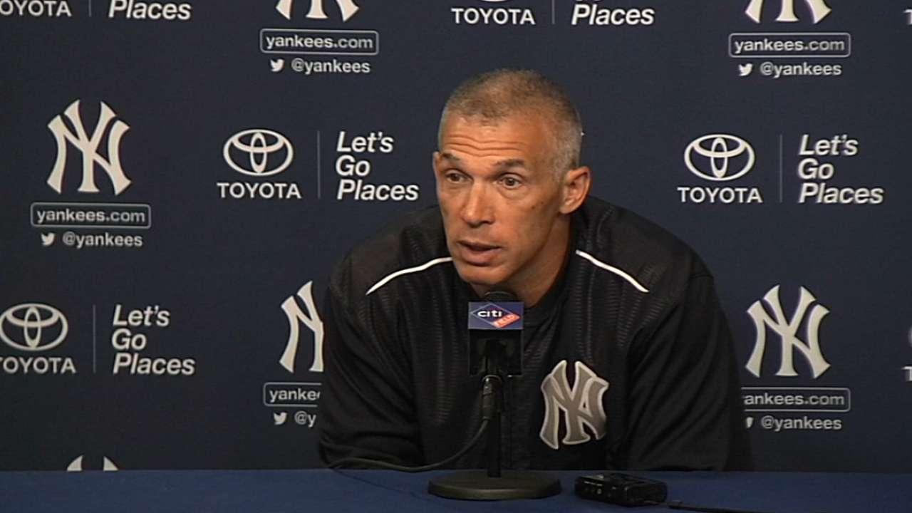 Girardi on Yankees' trades