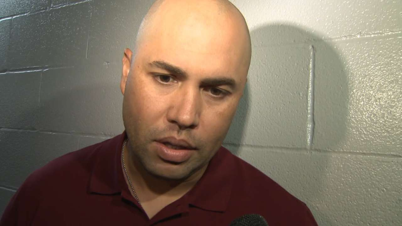 Beltran on trade to Rangers