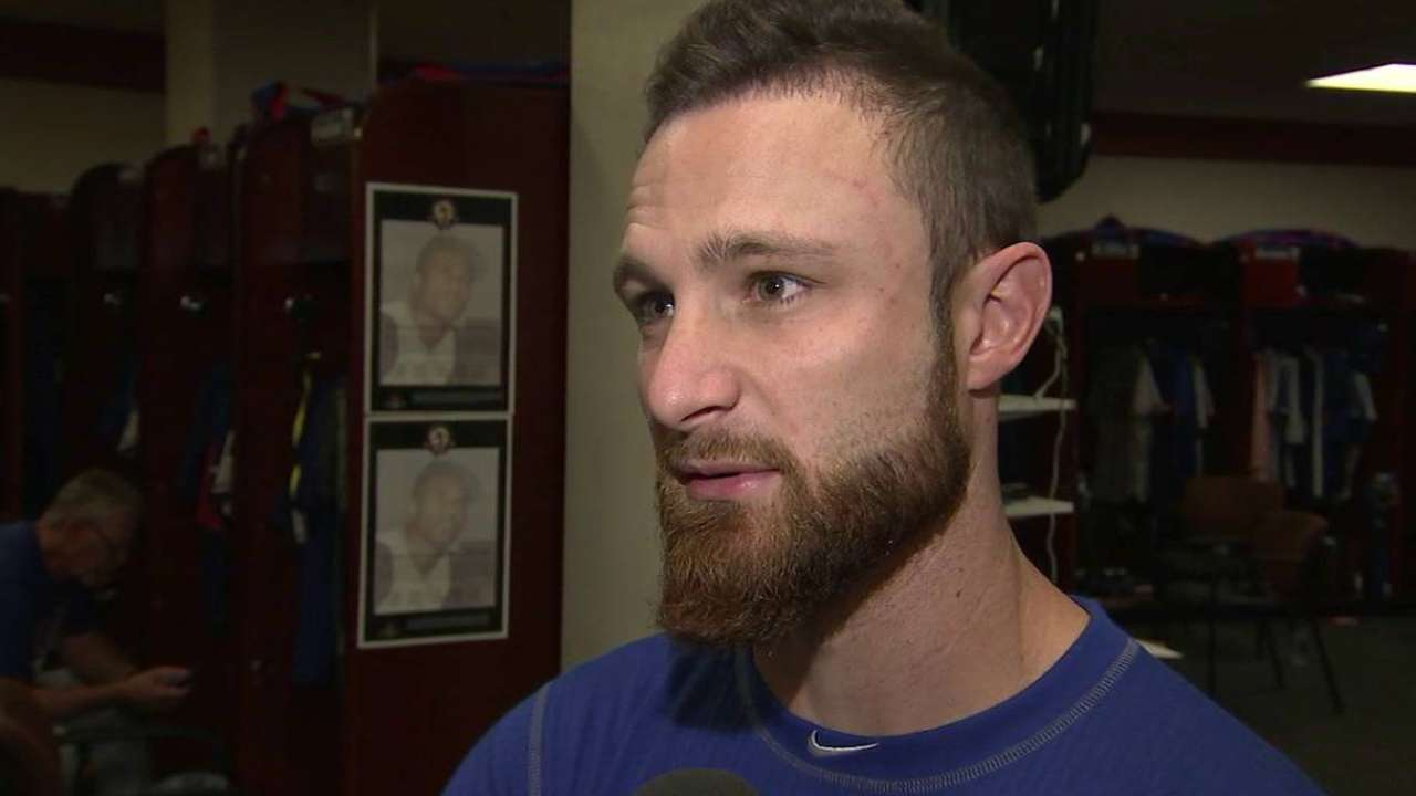 Lucroy confident about transition to new staff