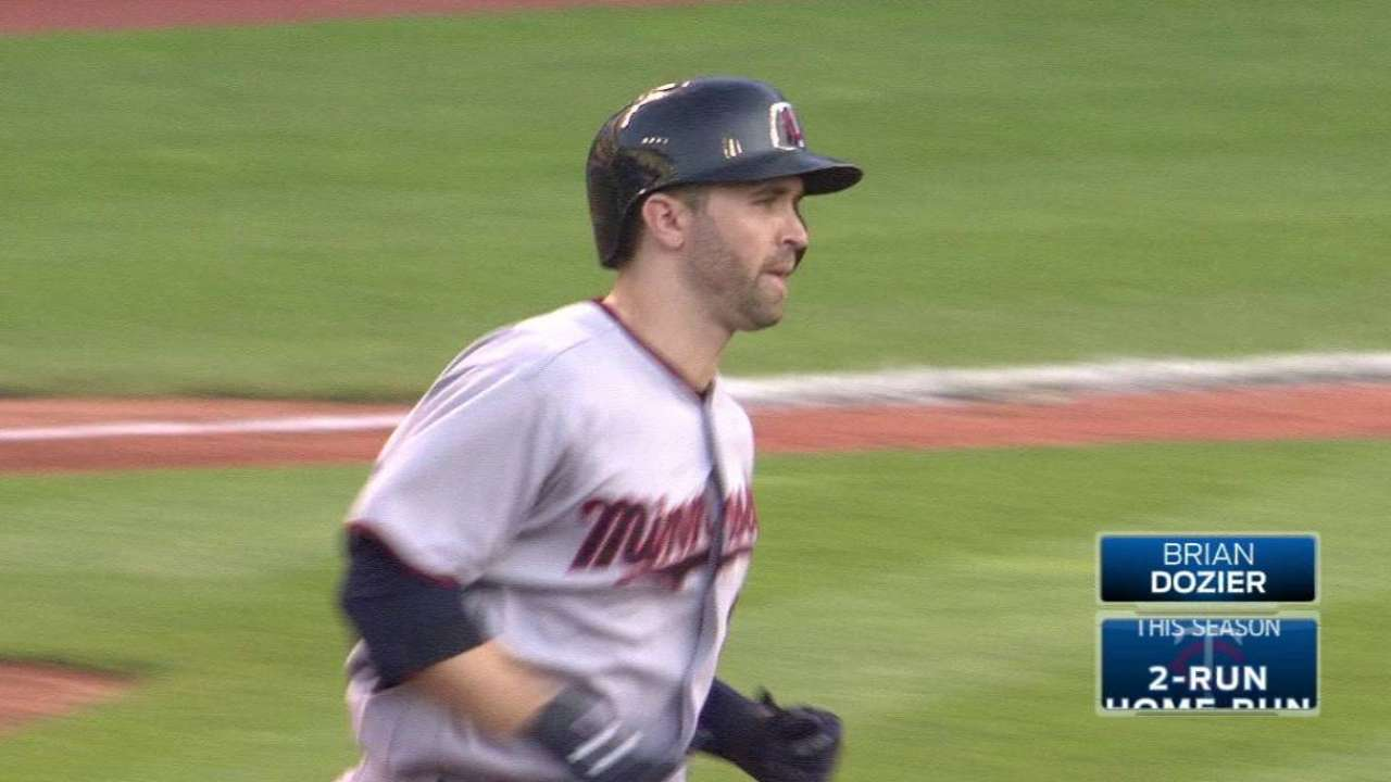 Twins muscle past Tribe behind Kepler, Dozier
