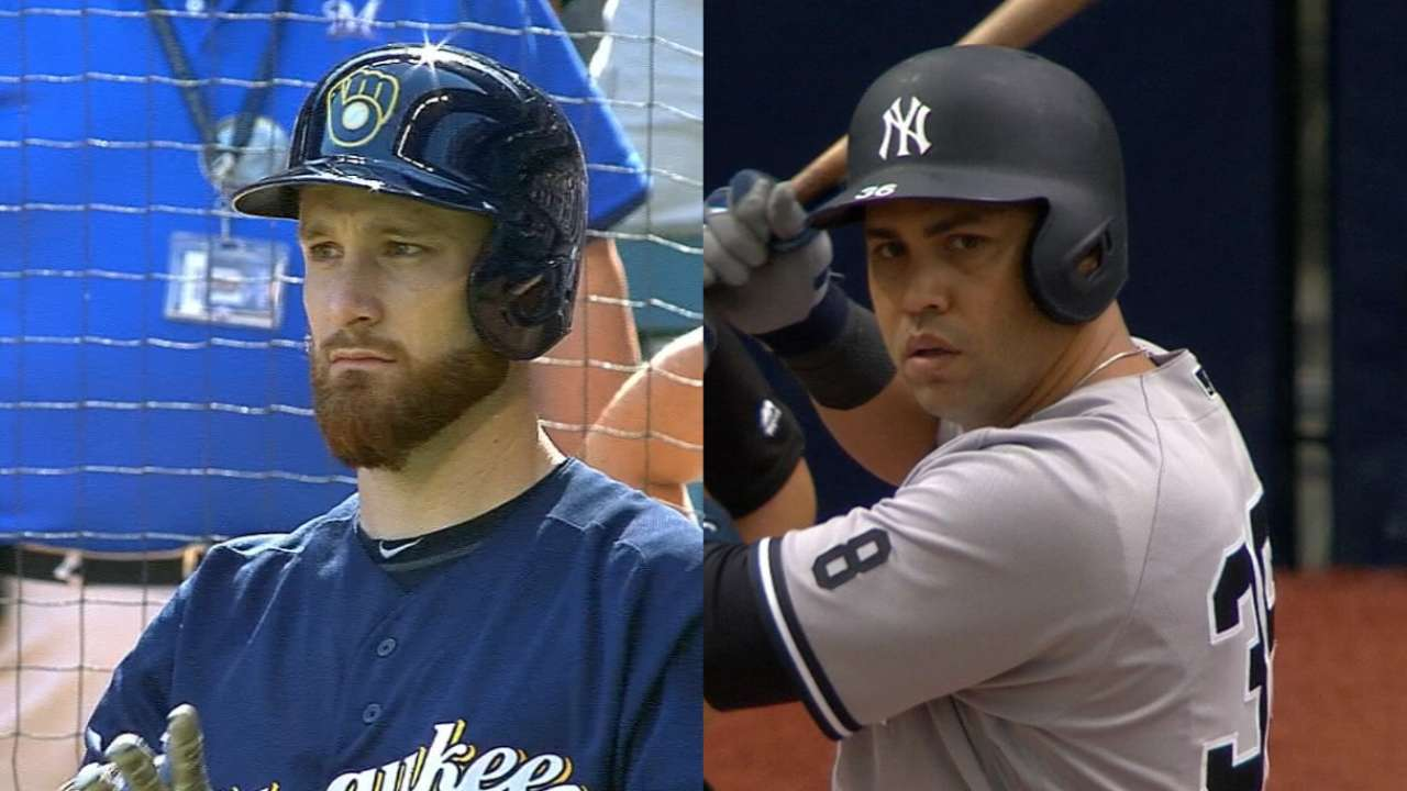 Rangers make big moves, acquiring Lucroy, Beltran