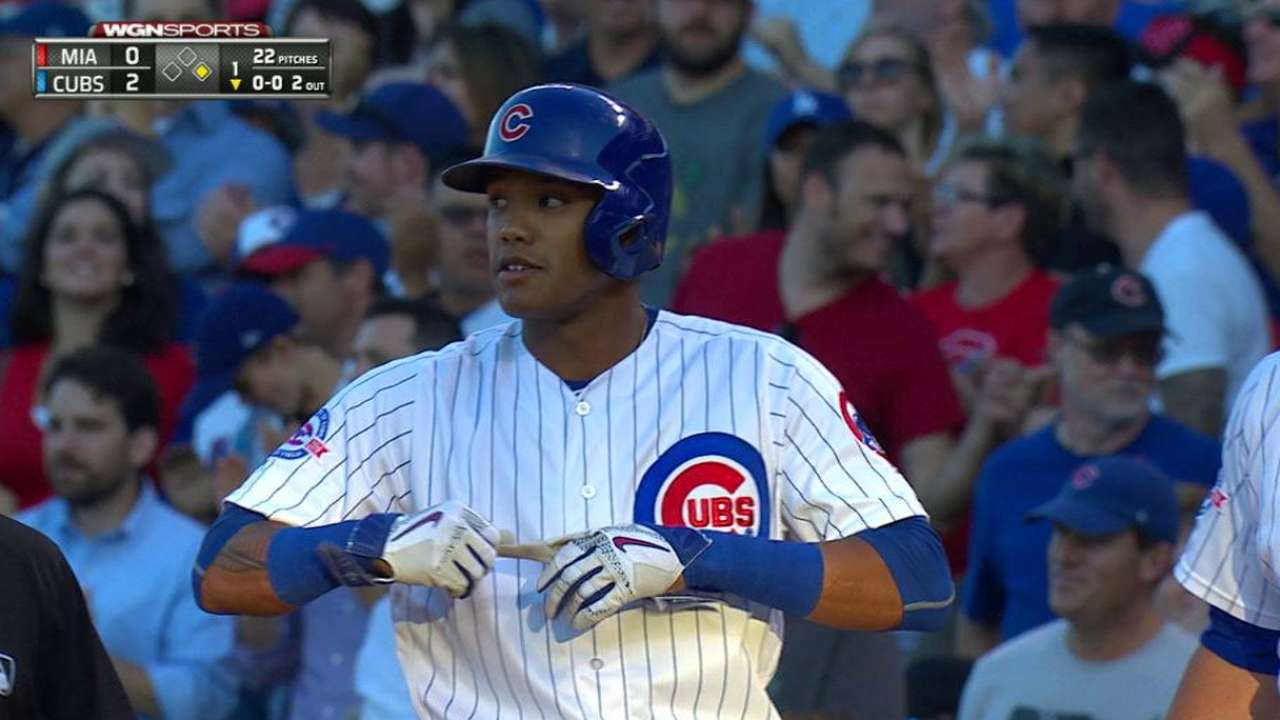 Russell's two-run single