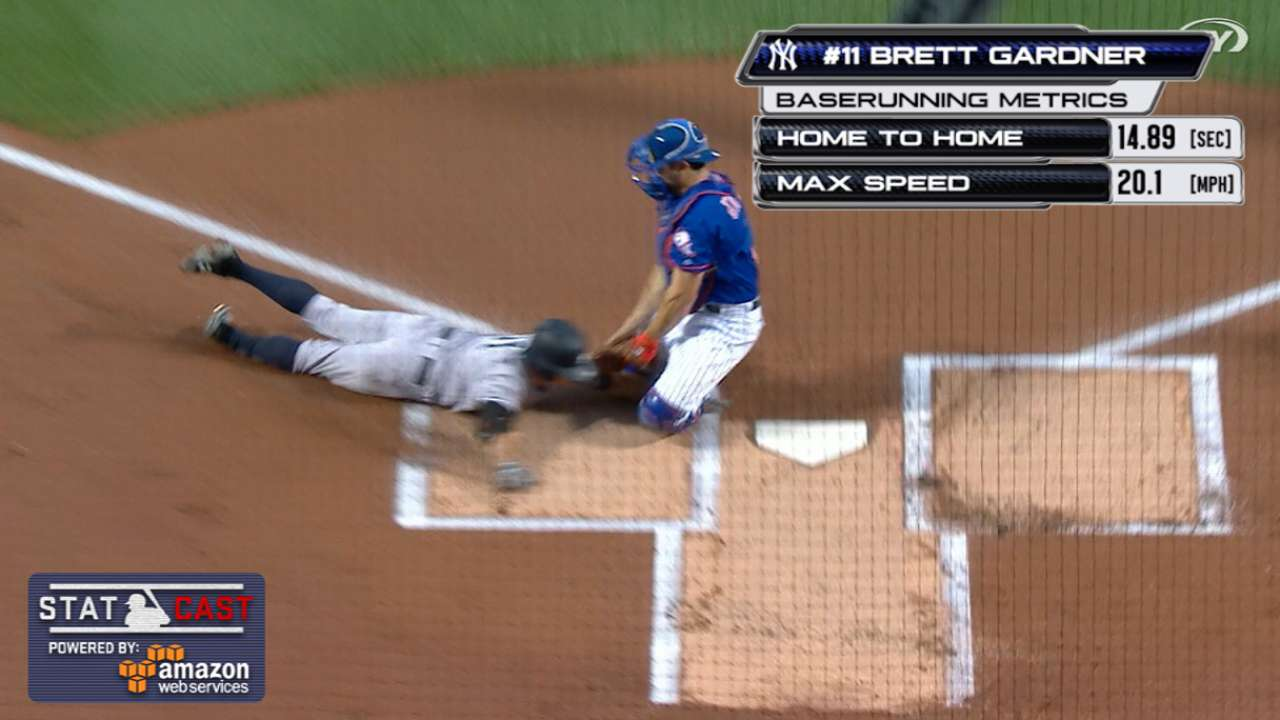 Statcast: Mets' relay home