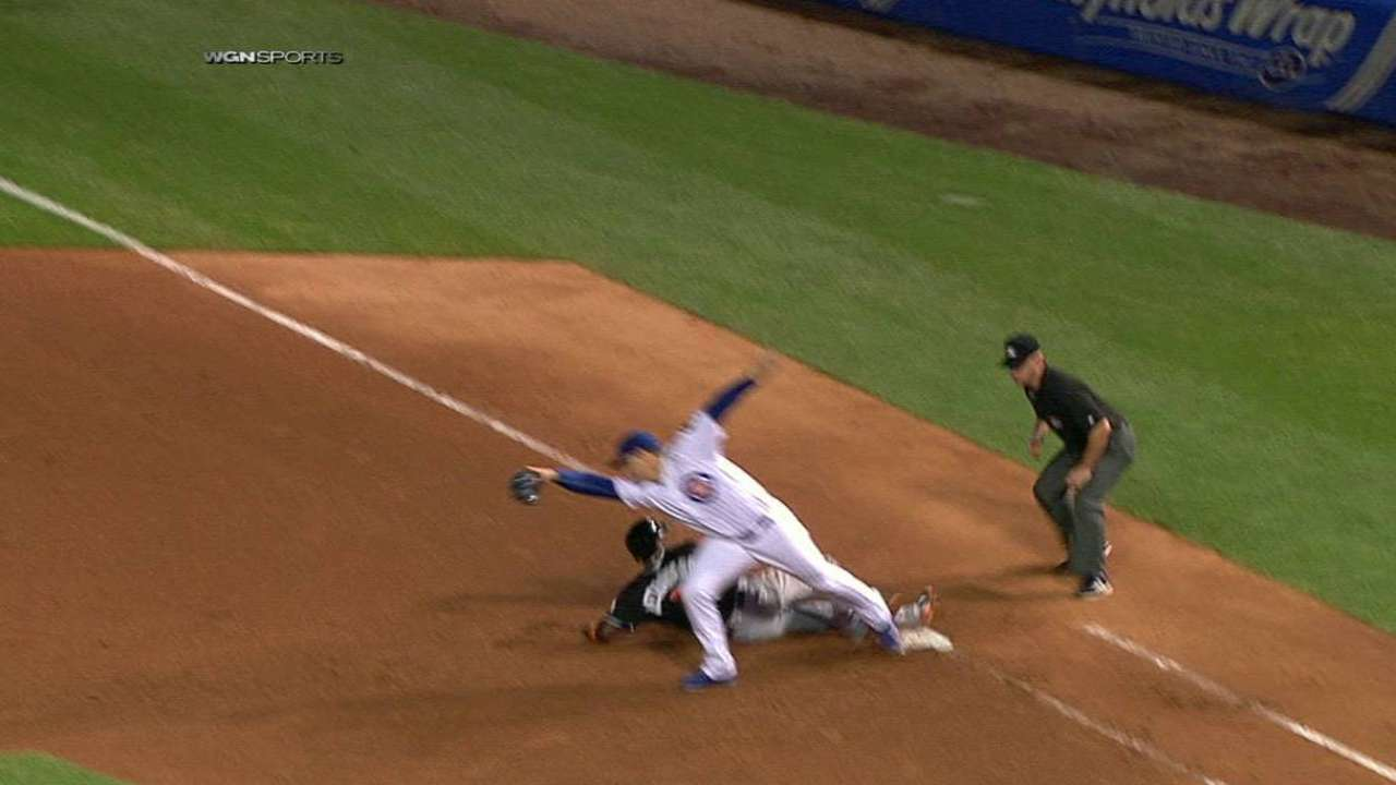 Cubs double off Hechavarria