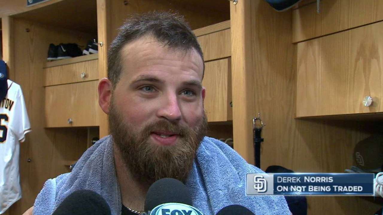 Padres hang onto Norris, relievers at Deadline