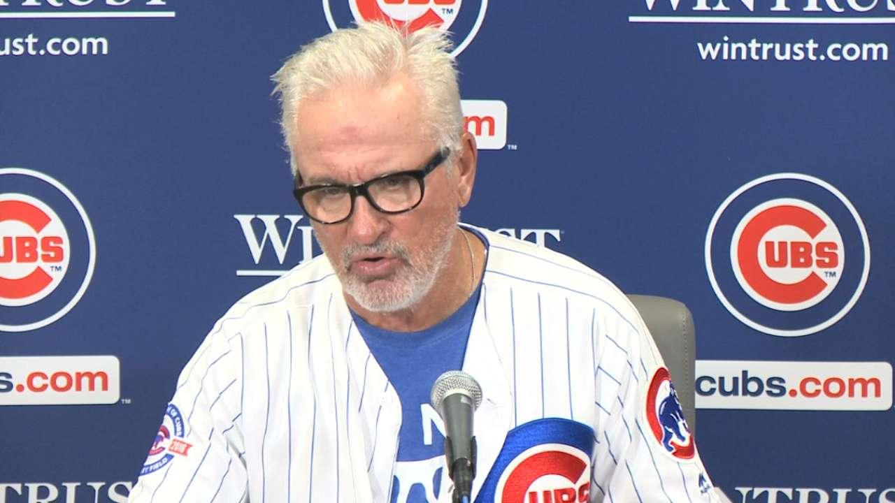 Maddon on Hendricks, Cubs win